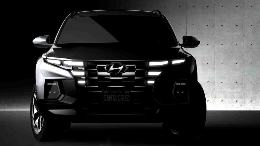 002 2022 Hyundai Santa Cruz Sport Activity Vehicle Teaser