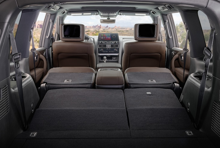 009 2021 Nissan Armada Platinum Driven