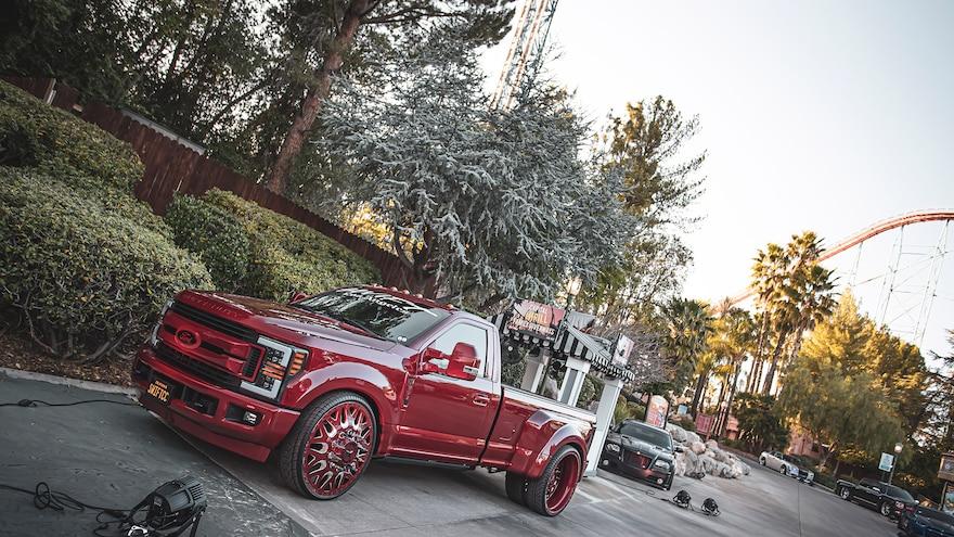 2021 Cruisn The Park Drive Thru Car Truck Show Magic Mountain 13