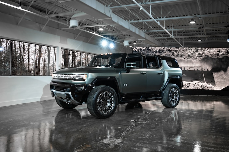 All-New 2024 GMC Hummer EV SUV: First Look