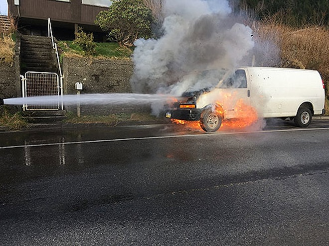 Flawed Cable Causes Fire in 2020-2021 Chevy/GMC Vans