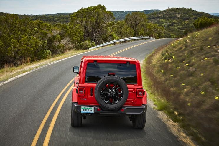 006 2021 Jeep Wrangler Sahara 4xe Plug In Hybrid First Drive