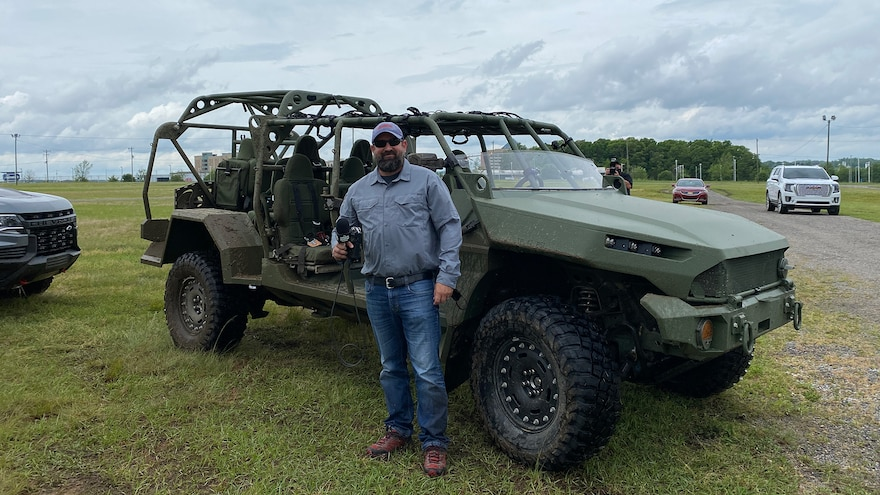 Aboard GM Defense's Chevy Colorado ZR2-based ISV: Episode 173 of The Truck Show Podcast