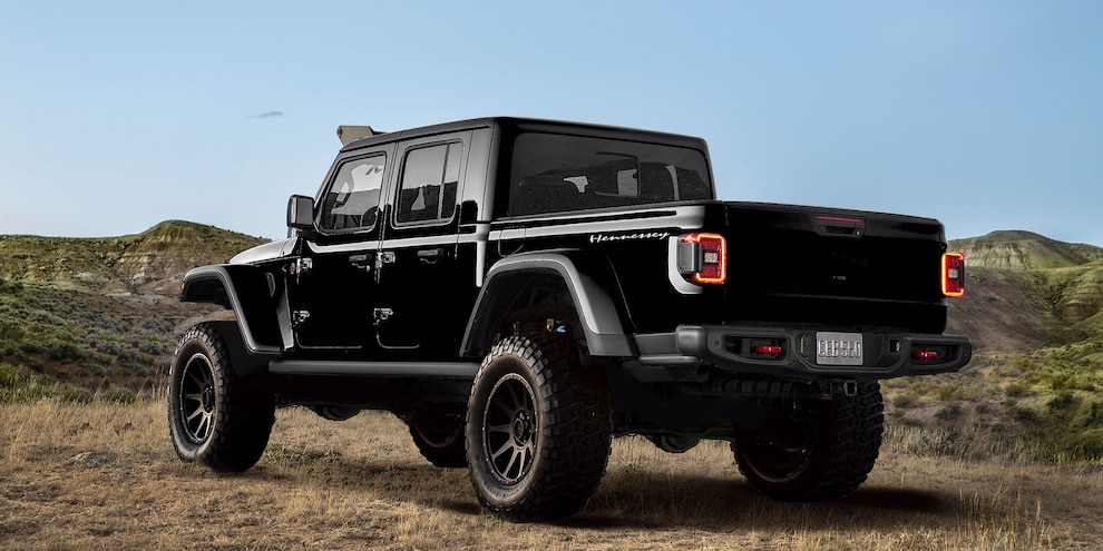 Hennessey Maximus Jeep Rear