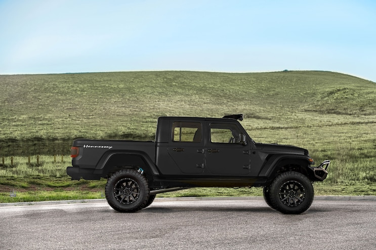 Hennessey Maximus Jeep Side
