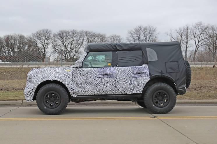2021 Ford Bronco Raptor Special Exterior Side Profile