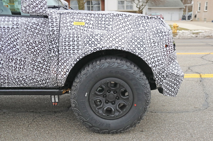 2021 Ford Bronco Raptor Special Exterior Wheel And Tire