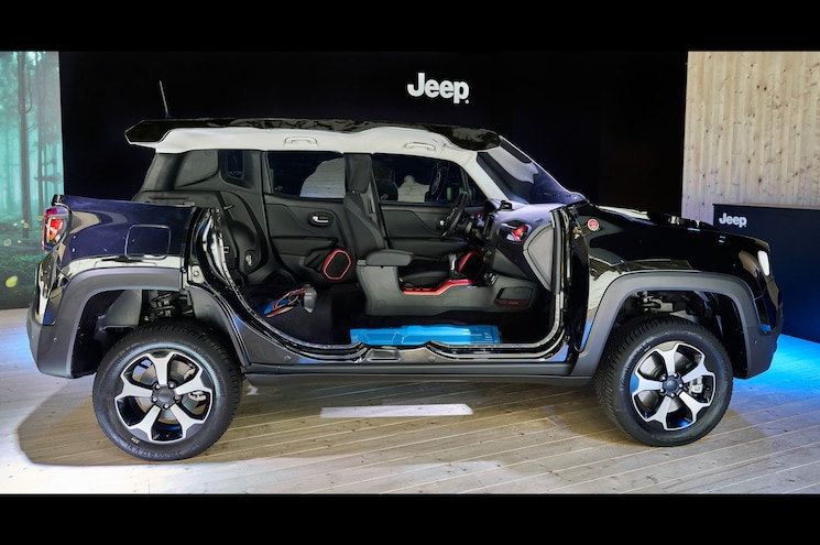 2021 Jeep Renegade 4xe First Edition Cutaway