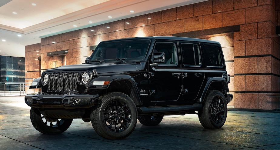 2020 Jeep Wrangler High Altitude Black Driver Side 10