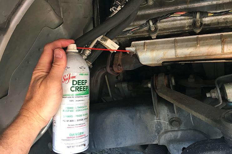 05 Dodge Hemi Broken Exshaust Manifold Bolt Fix