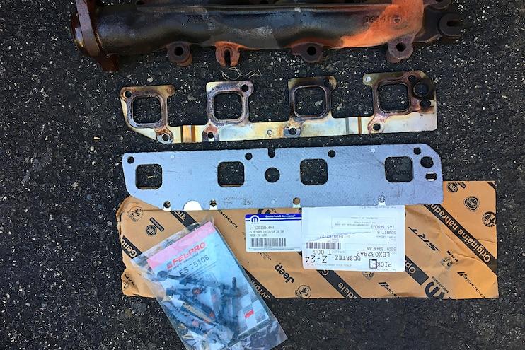 16 Dodge Hemi Broken Exshaust Manifold Bolt Fix