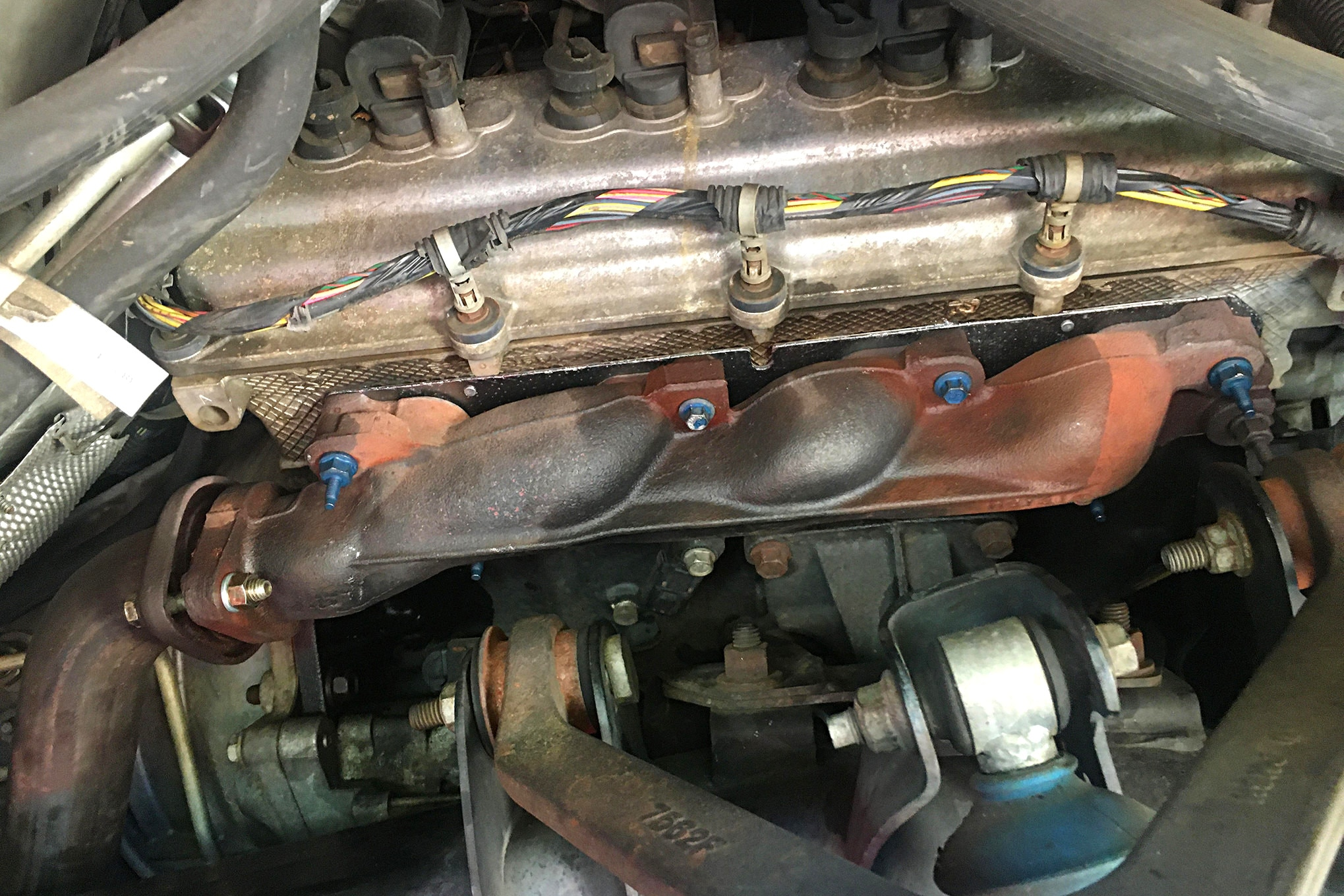 Fixing Exhaust Leak From Broken Manifold Bolts