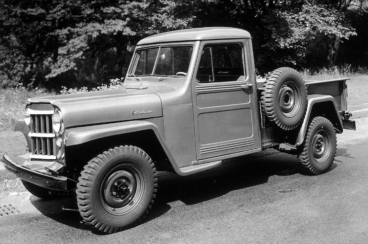 Cool Jeeps 1954 Willys Pickup Truck