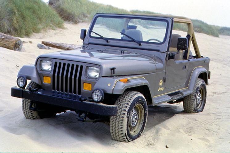 Cool Jeeps 1988 Jeep Wrangler Sahara Yj
