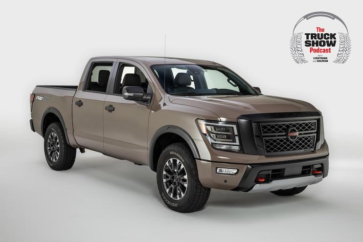 Truck Show Podcast Nissan Lightning Holman 2