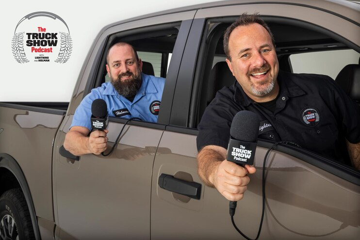 Truck Show Podcast Nissan Lightning Holman 8