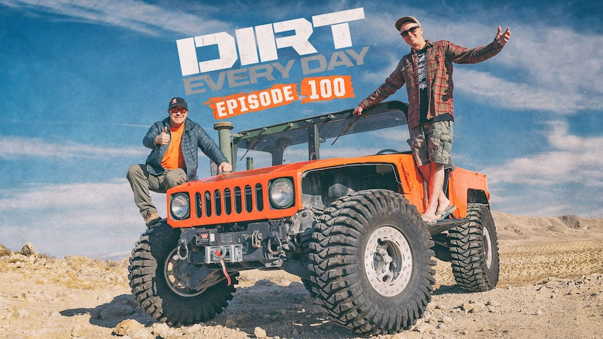 Dirt Every Day Live Watch Party Episode 100 26