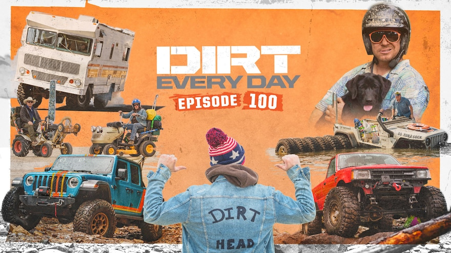 Dirt Every Day Live Watch Party Episode 100 27