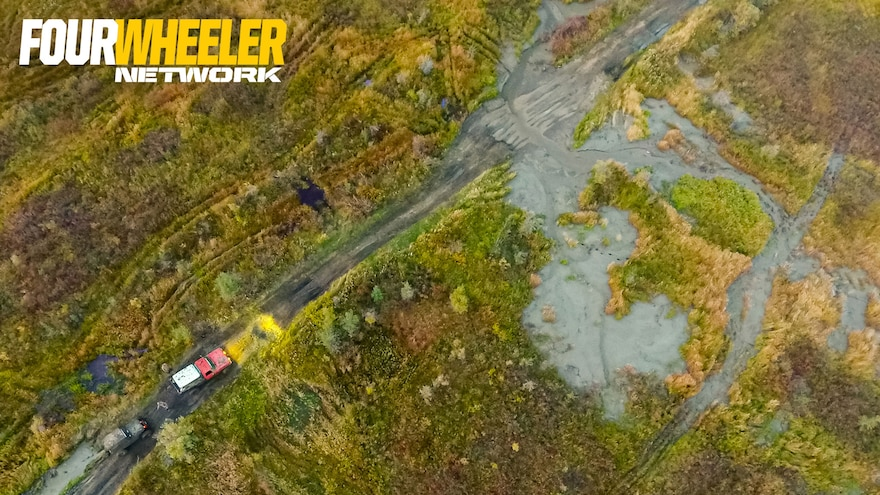 009 Aerial Shot Of Ultimate Adventure 2019 On The Into The Wild Stampede Trail