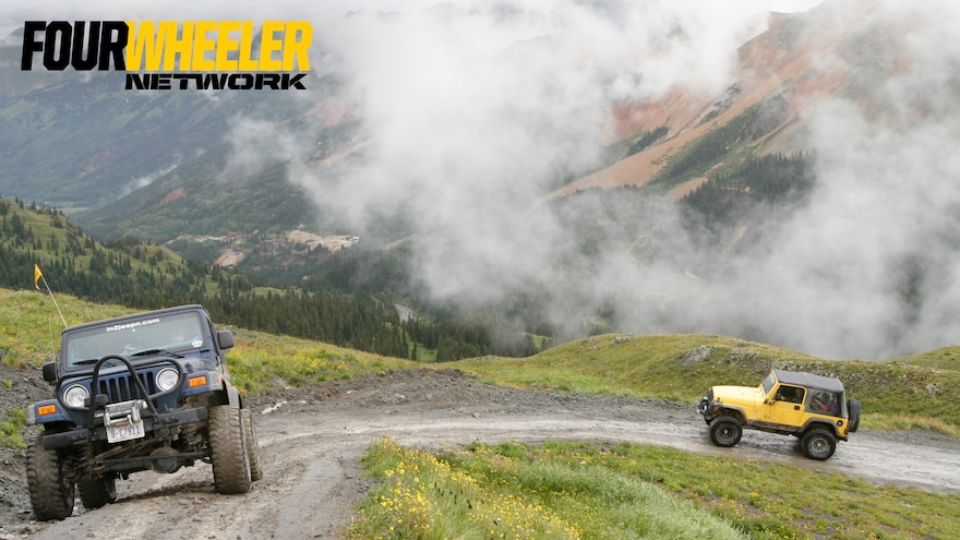 015 Wheeling In The Clouds On A Colorado Trail