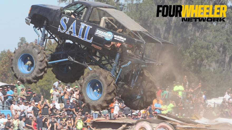 016 Florida Mega Truck Action From An Angle The Crowd Cant See