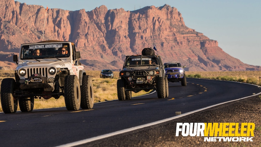018 Fred Williams And The Cummins Powered Tube Sock TJ In Arizona On Ultimate Adventure 2017