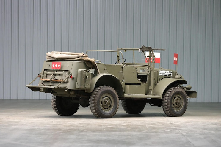 05 George Patton Dodge Wc 57 Command Car For Sale At Auction