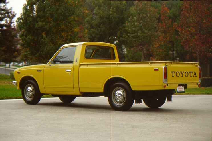 004 Toyota Truck History