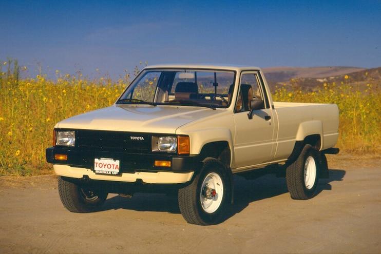 008 Toyota Truck History