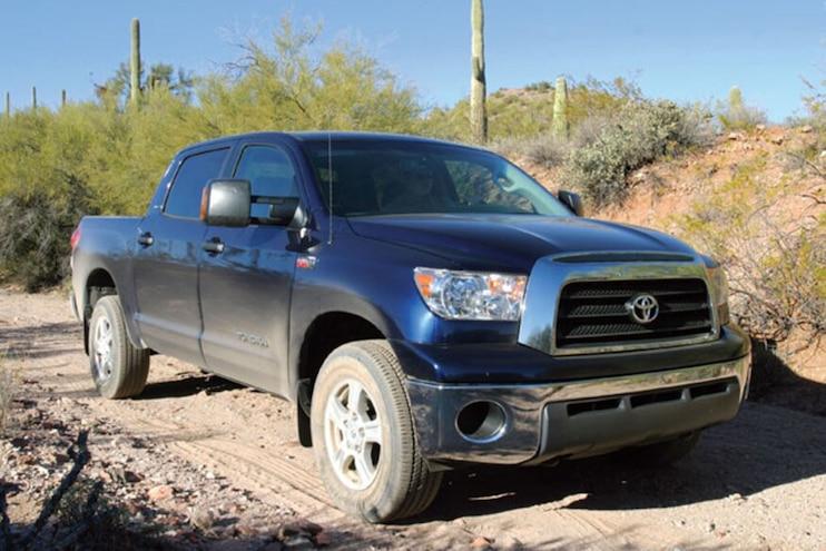 015 Toyota Truck History