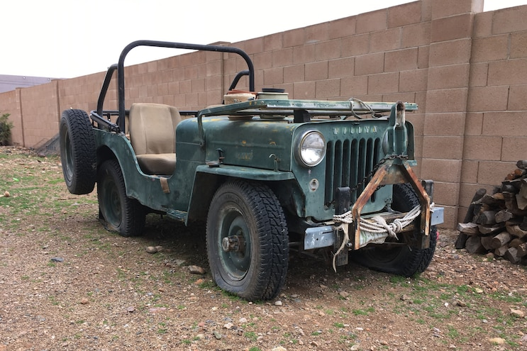 11 History Willys Cj 3b High Hood Jeep
