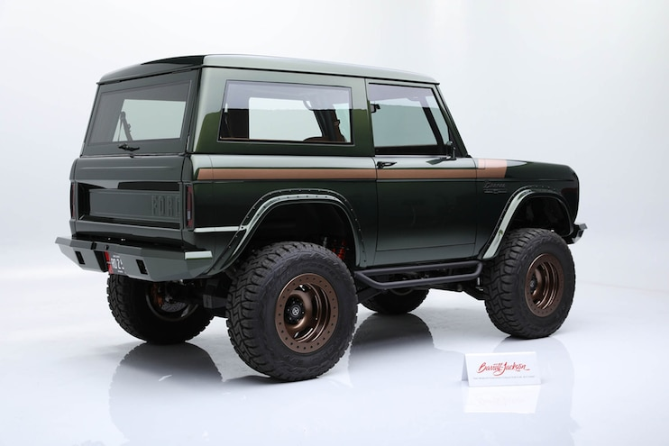 02 1976 Ford Bronco Barrett Jackson Sold For Huge Price