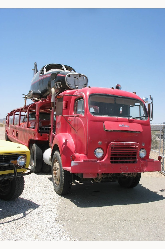 02 Old Truck Require Granny Gear Transmisison