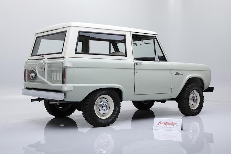 02 Restored 1972 Ford Bronco Online Auction Barrett Jackson