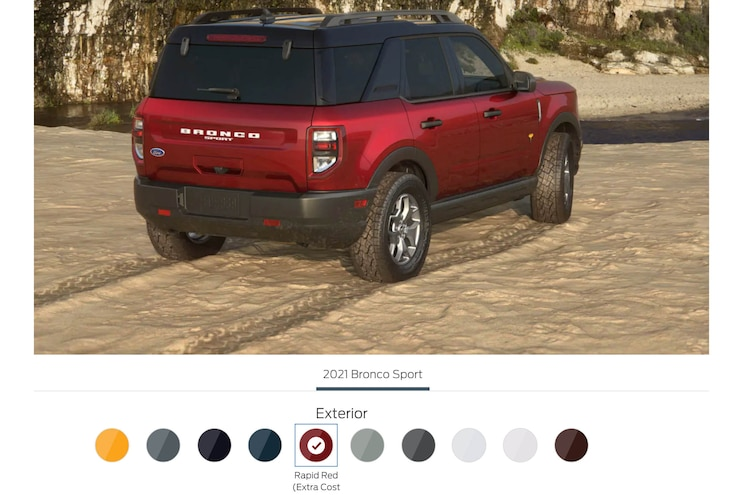 2021 Bronco Sport Ford Overland Adventure Offroad 4x4 Build 03