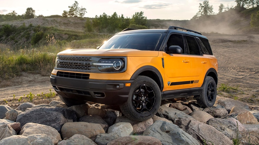 2021 Ford Bronco Sport Exterior 1