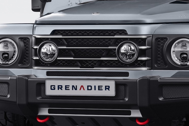 INEOS Grenadier Front Grill