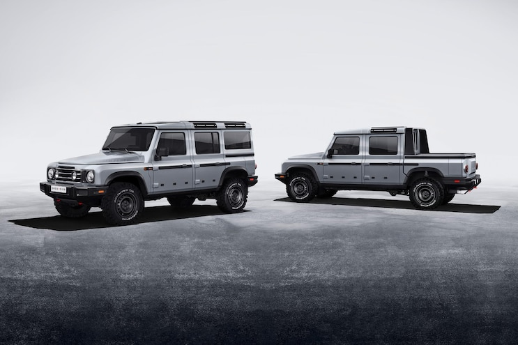 INEOS Grenadier Suv And Truck