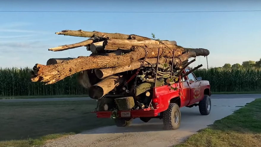 Whistlin Diesel Hauls 32000 Pounds Chevy Squarebody Truck 10