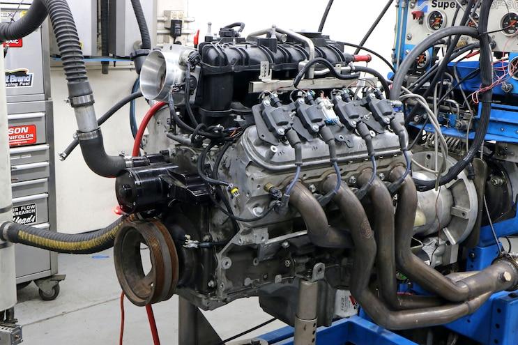 011 L92 Camp Swap L92 Dyno Test Engine Power Torque