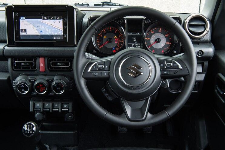 101 2020 Suzuki Jimny Interior Trunk