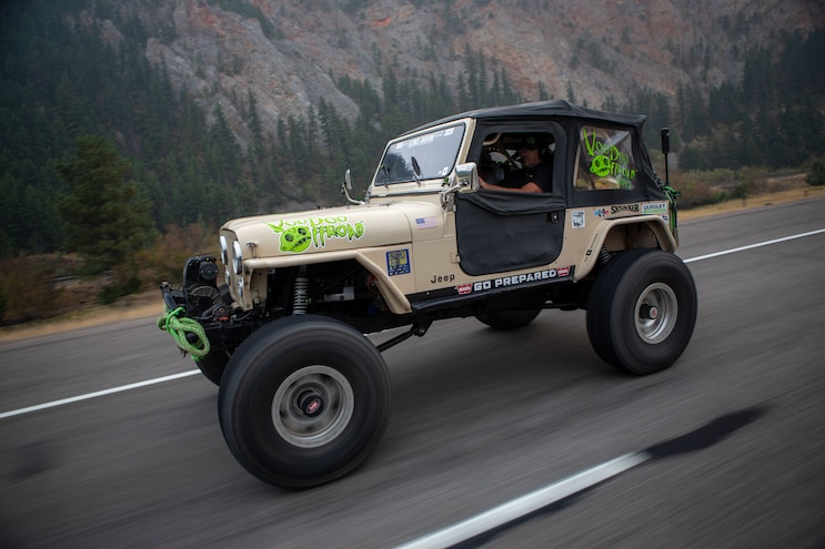 13 Ua20 Keith Bailey Cj 7 On Ultimate Adventure 2020
