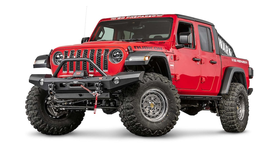 004 New Jeep Bumpers From Sema360