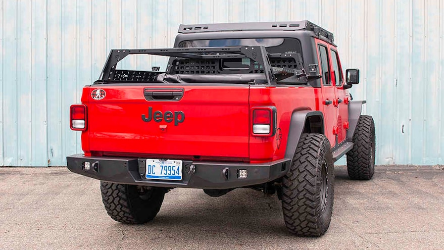 006 New Jeep Bumpers From Sema360