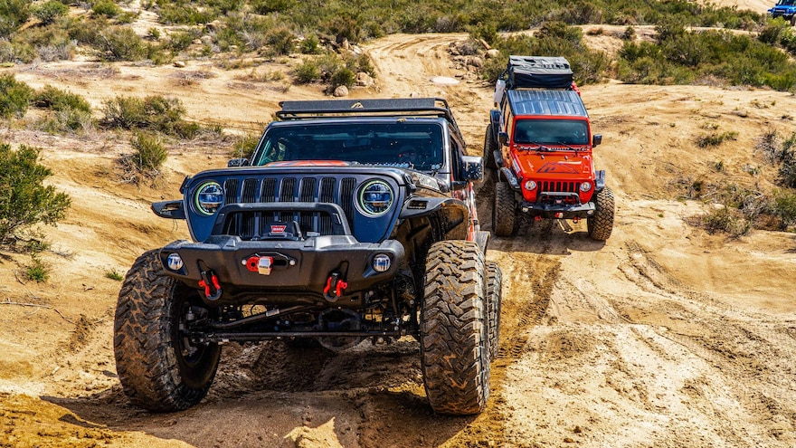008 New Jeep Bumpers From Sema360