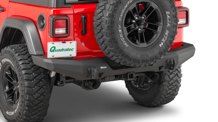 010 New Jeep Bumpers From Sema360