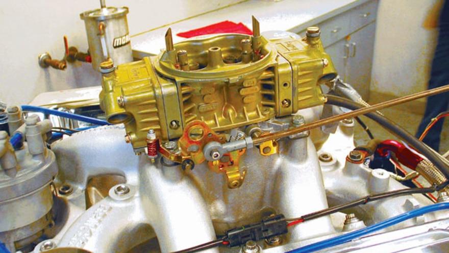 08 Big Block Ford Engine Build Holley Carburetor