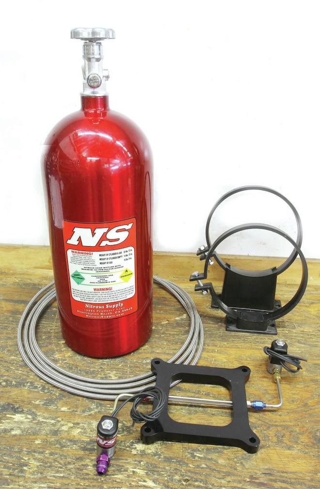 14 Nitrous Supply Powerstarter Lit