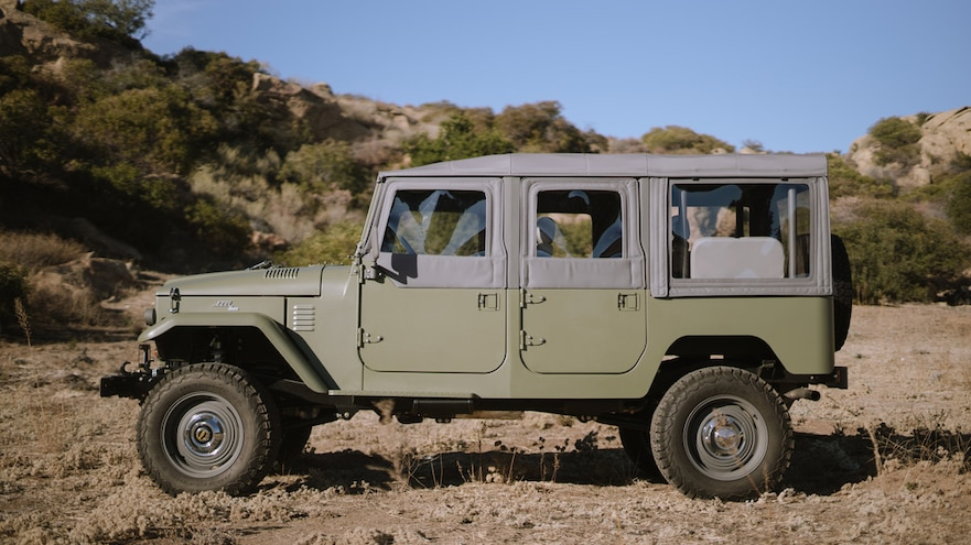 ICON FJ44 Old School Edition Full Side View Driver Side
