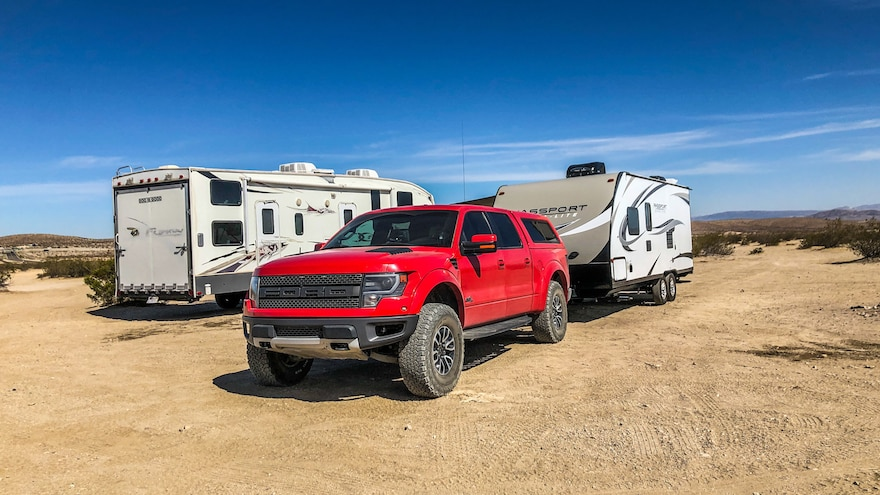 002 2013 Ford F150 Raptor Towing
